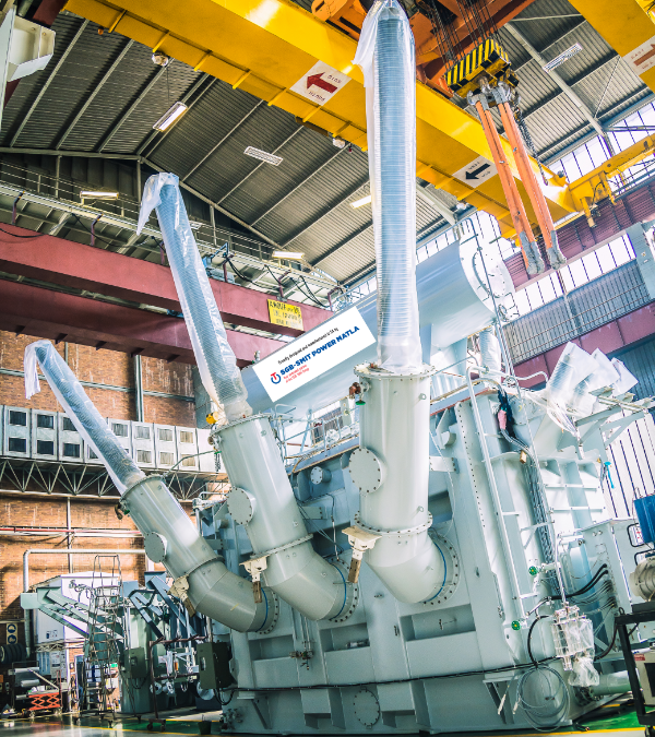 SGB-SMIT POWER MATLA Pretoria achieves another milestone   — Successful testing of 2nd 500MVA transformer unit for ESKOM